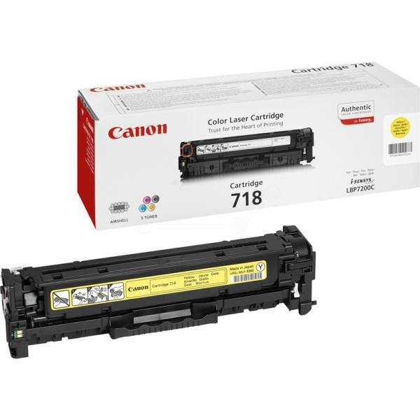 Lasertoner 718 Gul - 2659B002 - 2900sidor - original