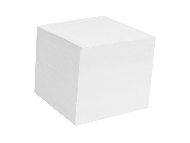 Blockkub refill vitt lösa papper 90x90mm 800bl