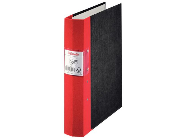 Pärm JOPA tygrygg gaffel A4 ryggbredd: 60mm röd
