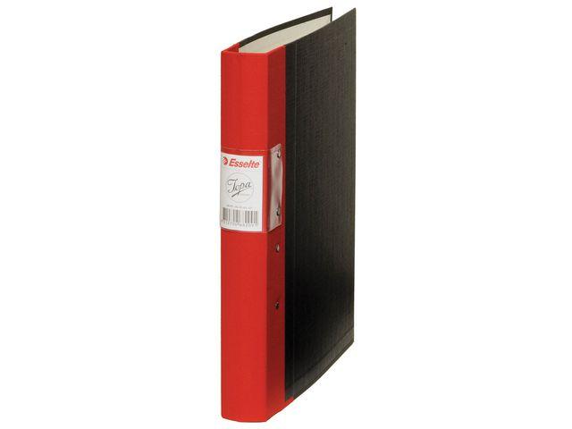 Pärm JOPA tygrygg gaffel A4 ryggbredd: 40mm röd