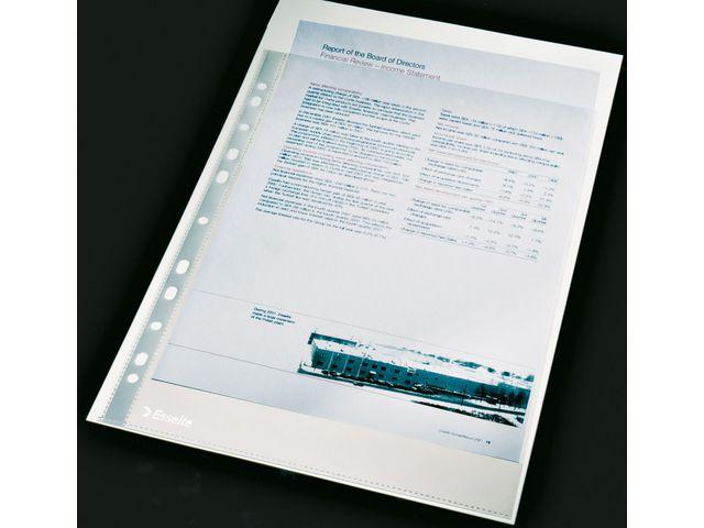 Plastfickor för pärm A4 0,11 klar 100st