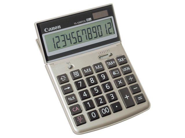 Bordsräknare CANON Recycled TS-1200TCG