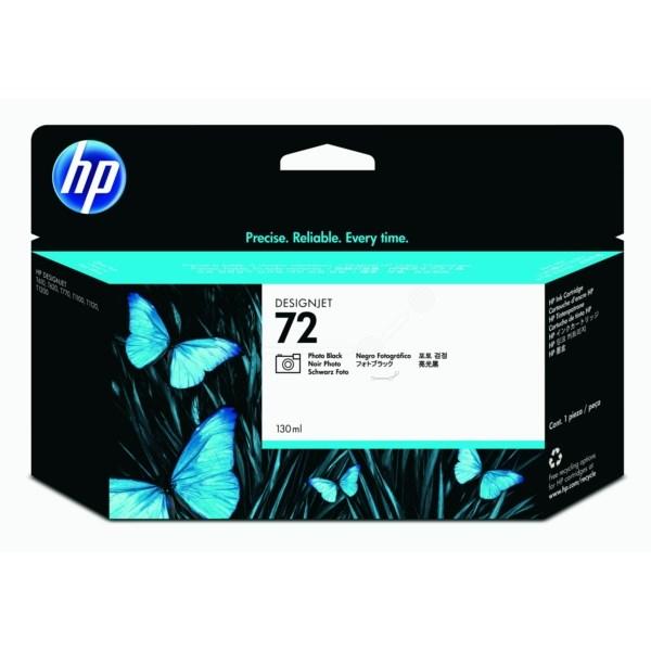 HP bläck Foto Svart nr:72 (130 ml) - C9370A