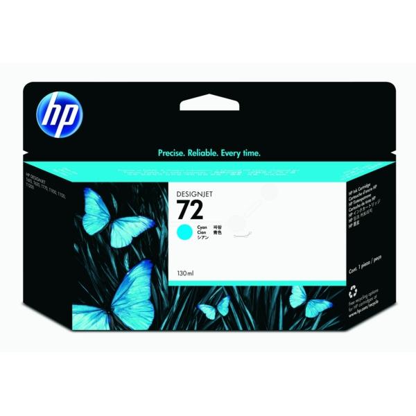 HP bläck Cyan/blå nr:72 (130 ml) - C9371A