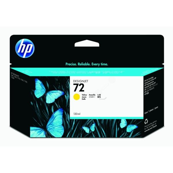 HP bläck Gul nr:72 (130 ml) - C9373A