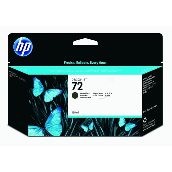 HP bläck Matt svart nr:72 (130 ml) - C9403A