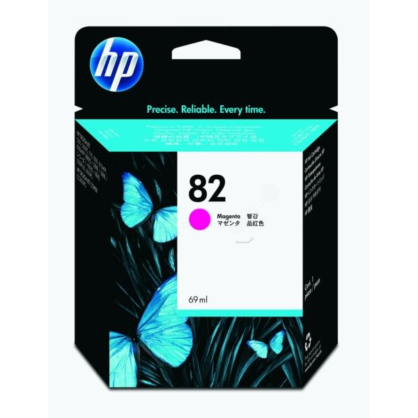 HP bläck Magenta/röd nr: 82 - (69ml) - C4912AE