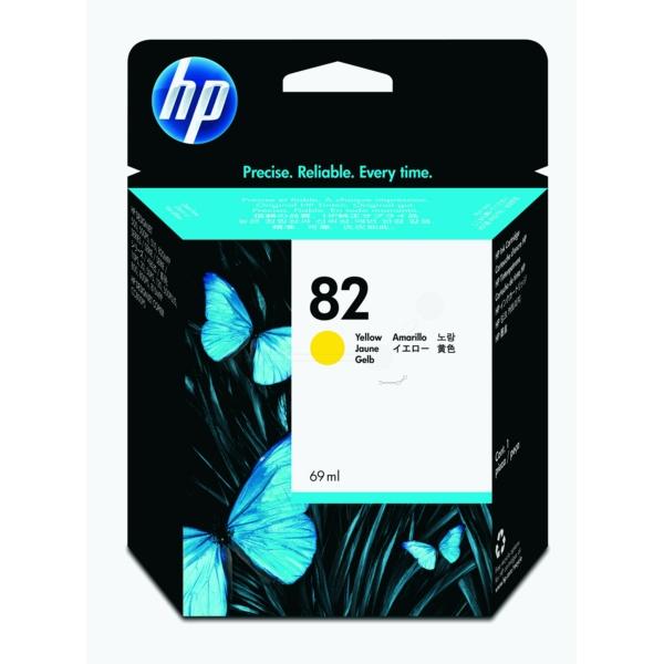 HP bläck Gul nr: 82 - (69ml) - C4913AE