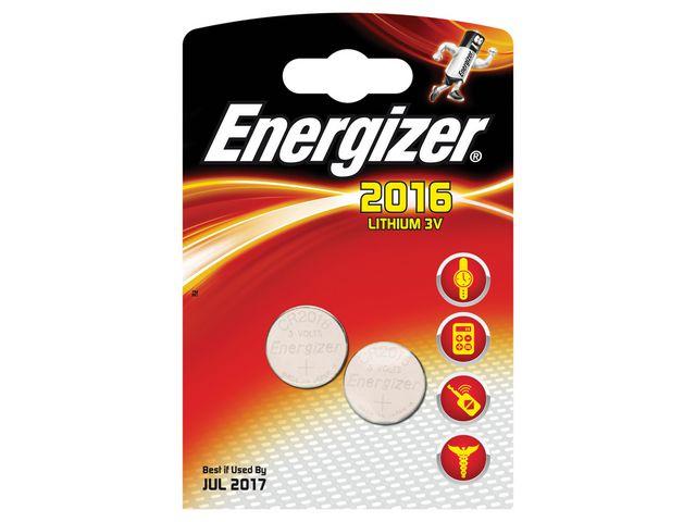 Batteri 2016 ENERGIZER Cell Lithium  2st/fp