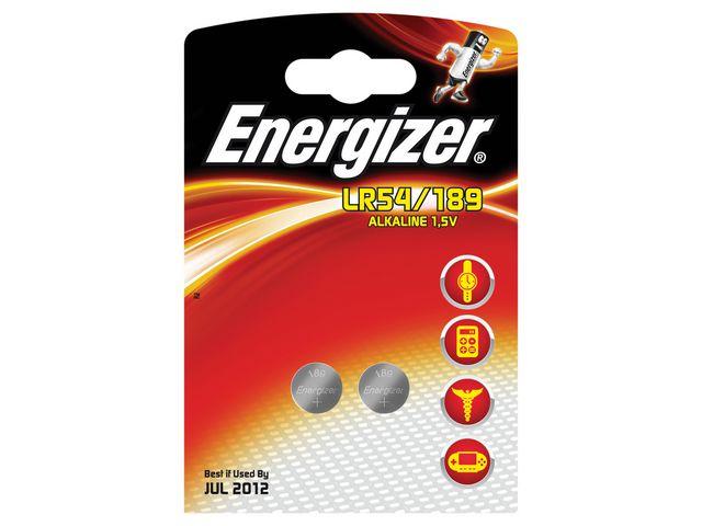 Batteri LR54 / 189 ENERGIZER  2st/fp