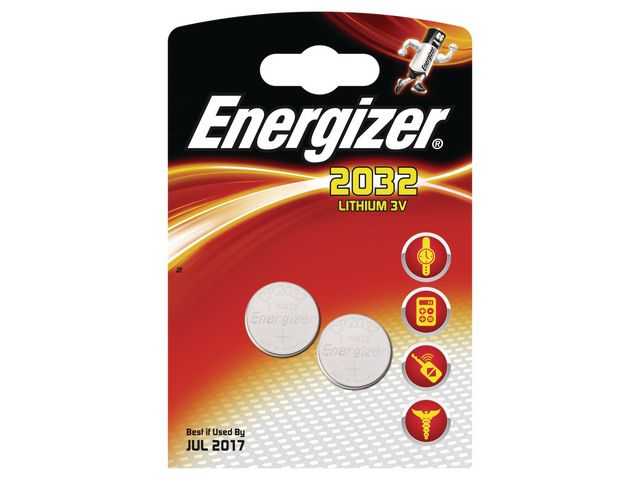 Batteri 2032 ENERGIZER Cell Lithium  2st/fp