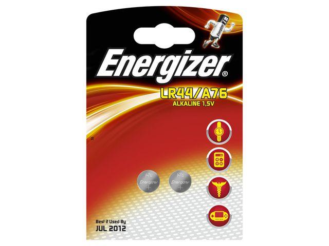 Batteri LR44 - A76 ENERGIZER Cell  2st/fp
