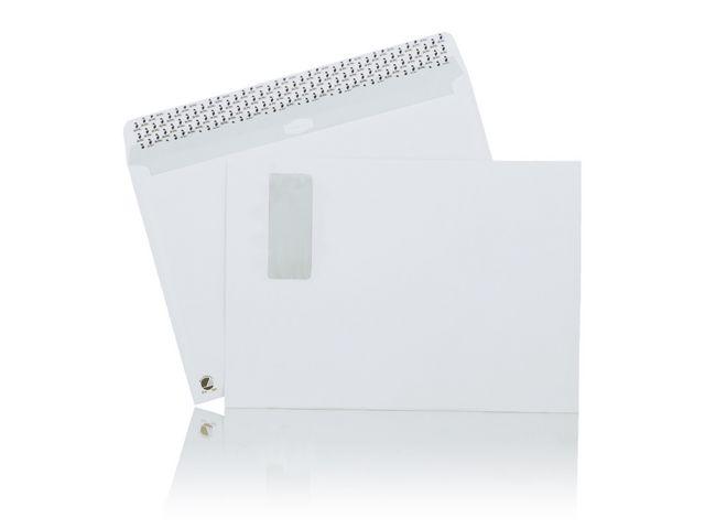 Kuvert MAILMAN C4H2 vit remsa PS 500/fp