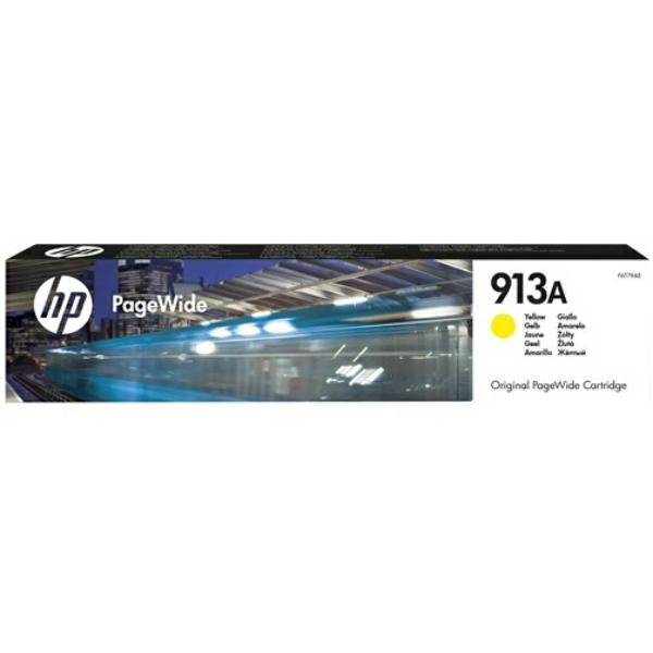 HP bläck 913A gul 37,5ml - original