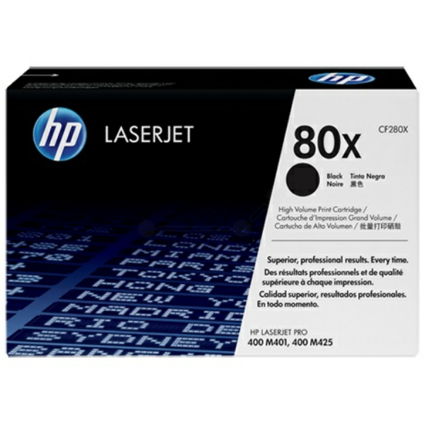 Lasertoner CF280X - 80X - 6900sidor - HP original