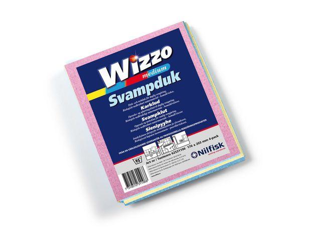 Svampduk Wizzo Medium 21x17cm, 4/FP