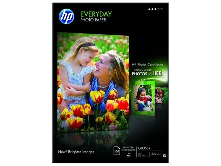 HP A4 Everyday Photo Paper (bläck) 200 gram 100-pack