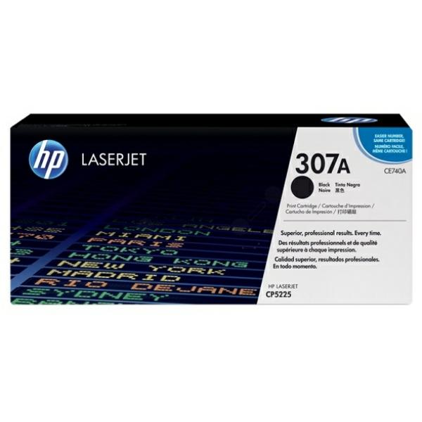 Lasertoner CE740A Svart - 7000sidor - HP original