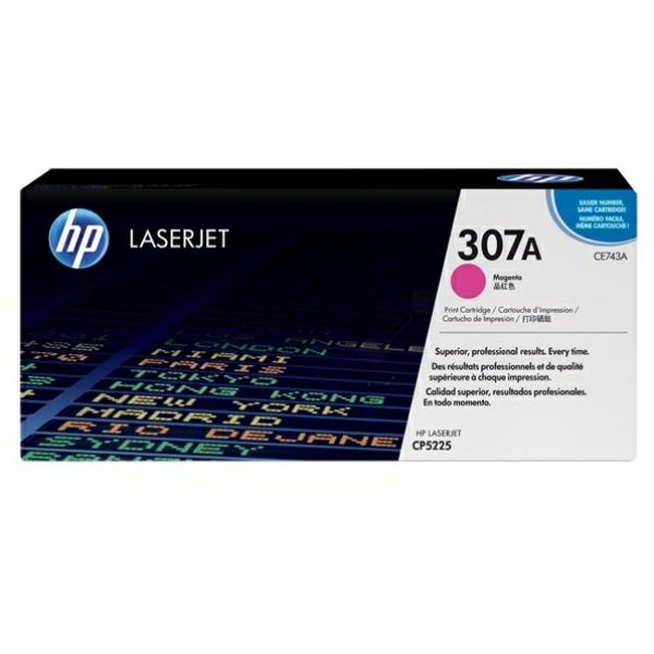 Lasertoner CE743A Röd/magenta - 7300sidor - HP original