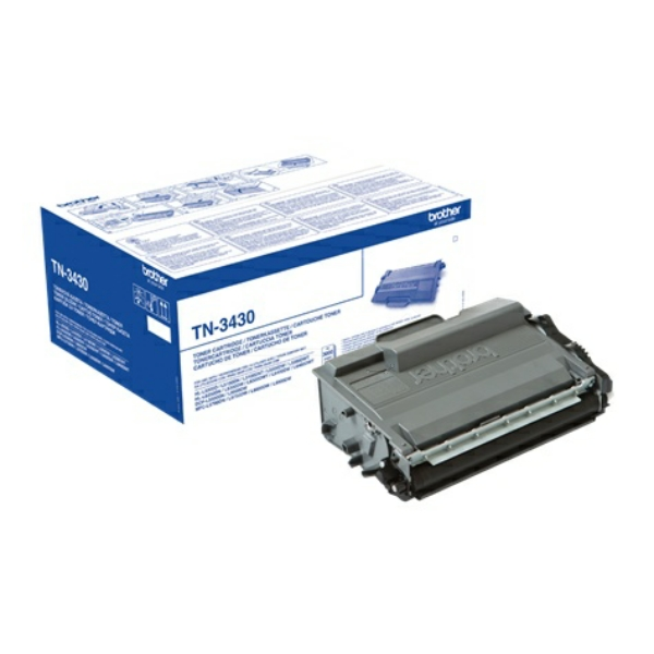 Lasertoner Brother TN-3430 - 3000sidor - original