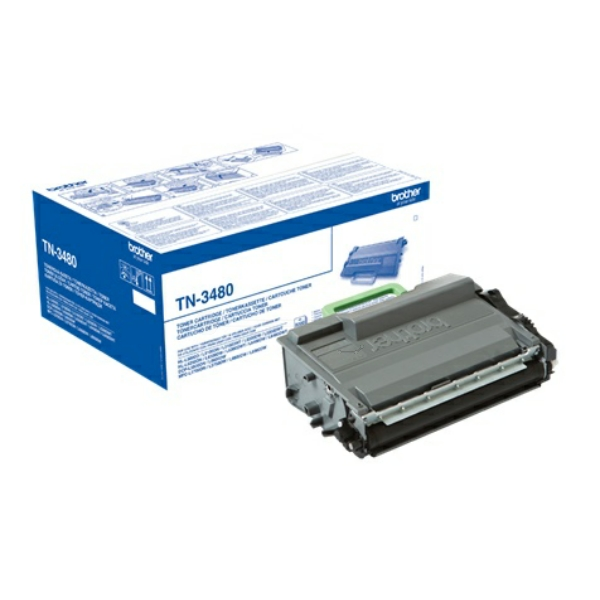 Lasertoner Brother TN-3480 - 8000sidor - original