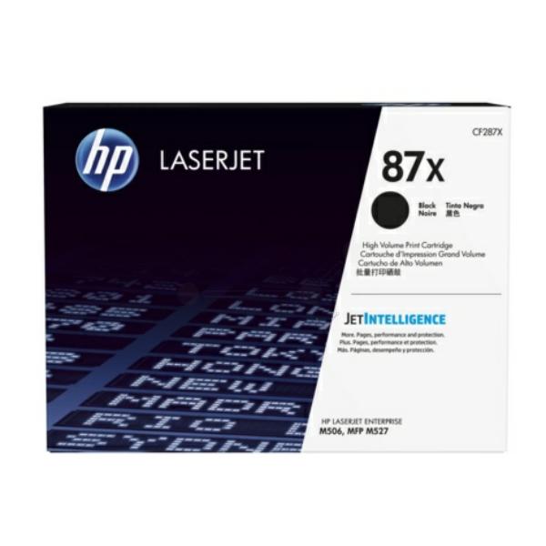 Lasertoner CF287X - 87X - 18000sidor - Hp original