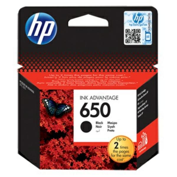 HP bläck 650 svart 360sidor - original