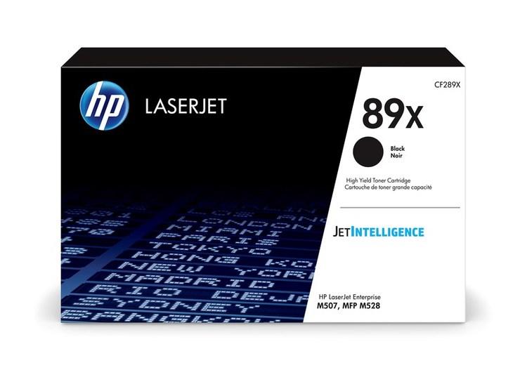 HP LaserJet CF289X - 89X Black Toner 10000sidor original