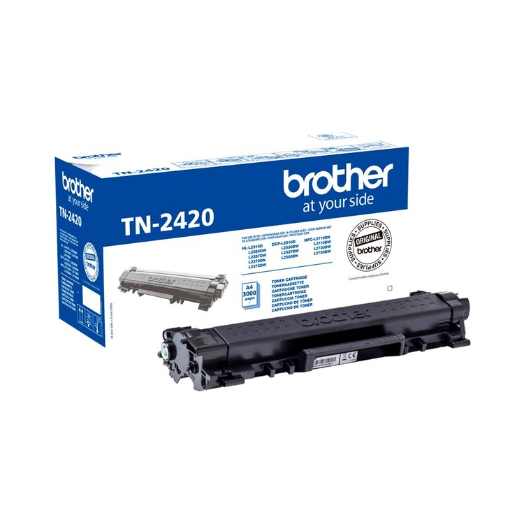 Lasertoner Brother TN-2420 - 3000sidor - original