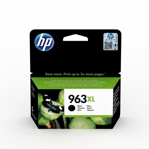 HP bläck 963XL Svart 2000sidor - original