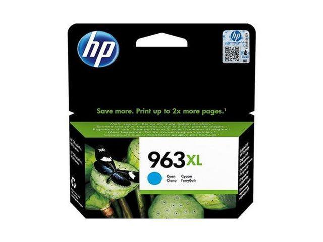 HP bläck 963XL Blå/cyan 1600sidor - original