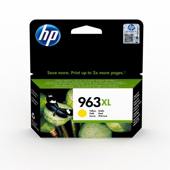 HP bläck 963XL Gul 1600sidor - original