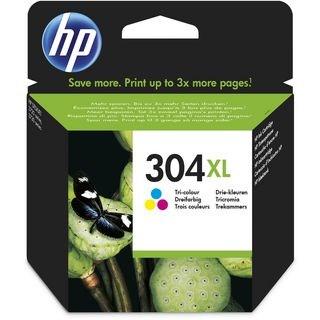 HP bläck 304XL 3-färg C/M/Y 300sidor - original