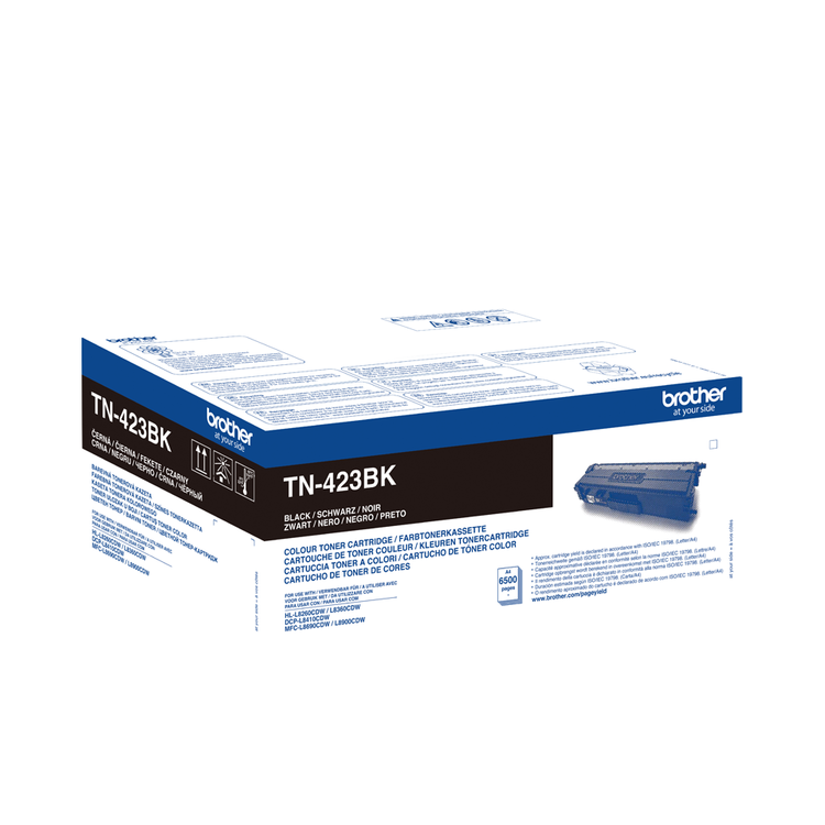 Toner TN423BK - Svart 6500sidor - original