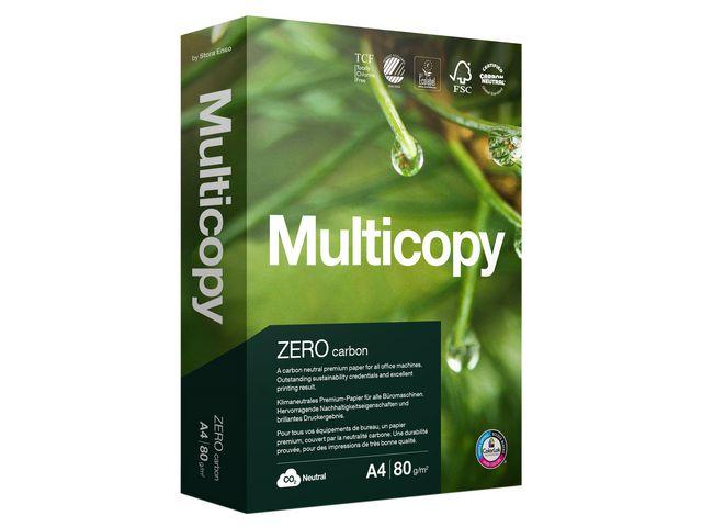 Papper MultiCopy Zero A4 ohålat 80g 2500ark
