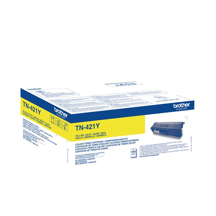 Toner TN421Y - gul 1800sidor - original