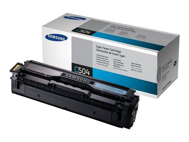 Toner CLT-C504S - blå/cyan 1800sidor - original