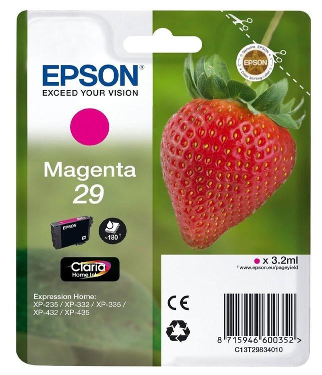 Epson 29 Magenta röd