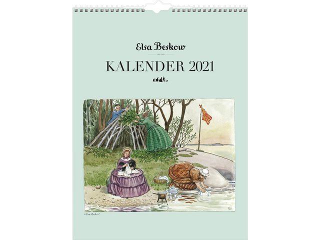 Elsa Beskow kalender -1748  (2021)