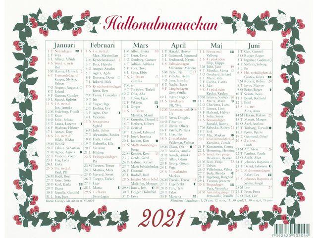 Stora Hallonalmanackan -5010  (2021)