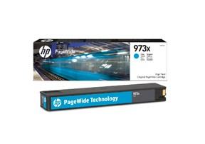 HP bläck 973X cyan blå 7000sidor - original