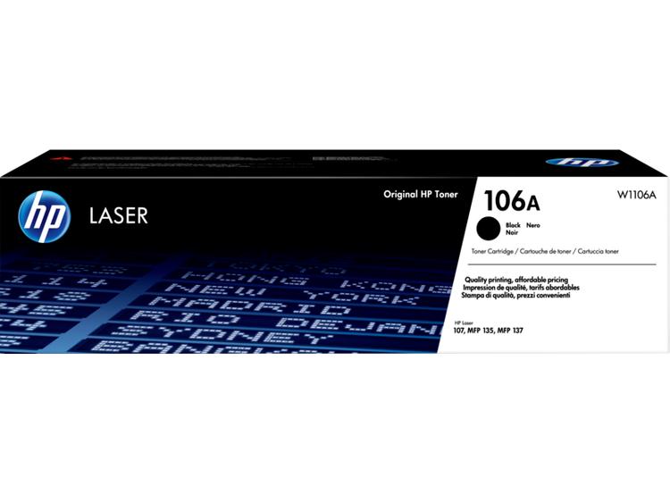 Lasertoner W1106A - 106A - 1000sidor - HP original