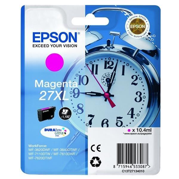 Epson 27XL magenta/röd  1100sid