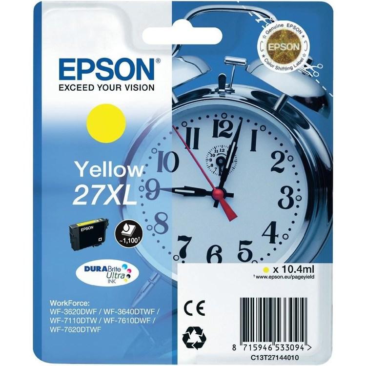 Epson 27XL gul 1100sid