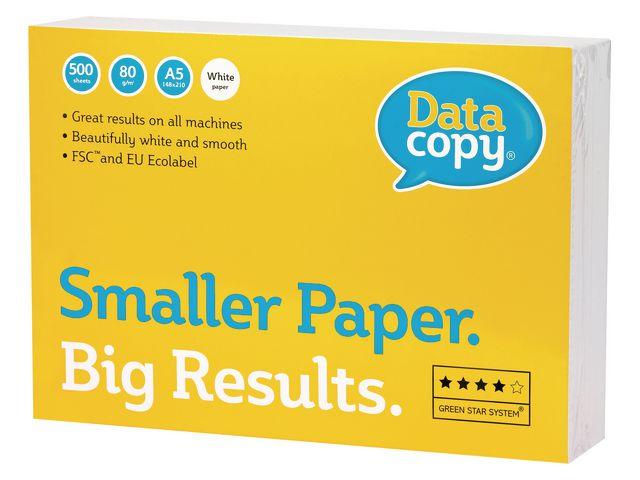 Papper DataCopy A5 ohålat 80g 5000ark