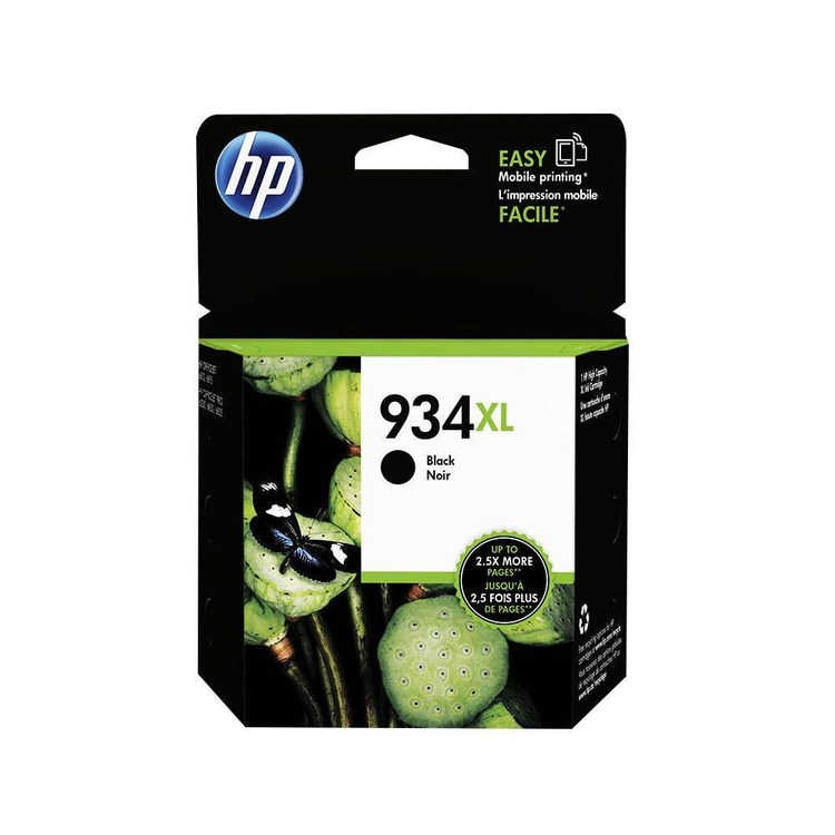 HP bläck 934XL svart 1000sidor - original
