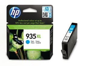 HP bläck 935XL blå 825sidor - original