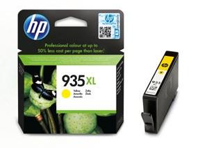 HP bläck 935XL gul 825sidor - original