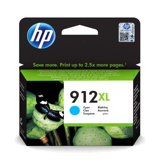 HP bläck 912XL Blå  825sidor - original