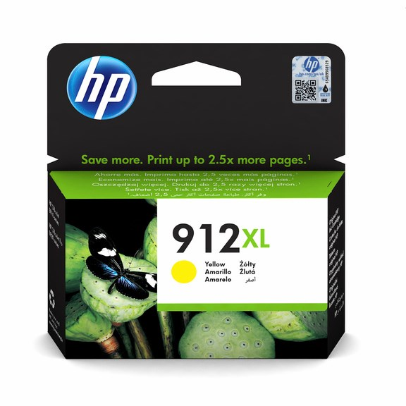 HP bläck 912XL Gul  825sidor - original